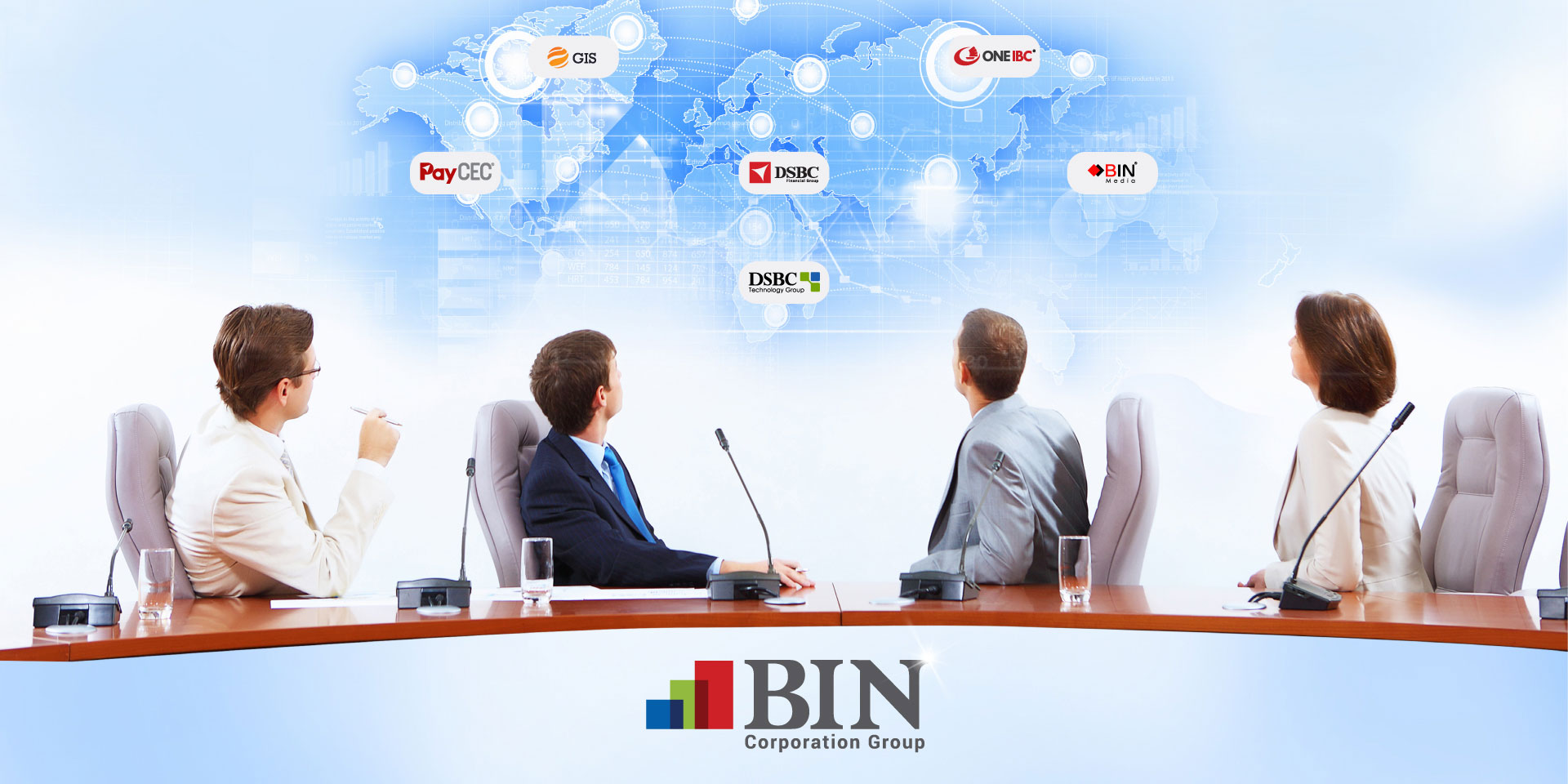 BIN Corporation Group is the impression business metastasis of BIN Holdings Ltd