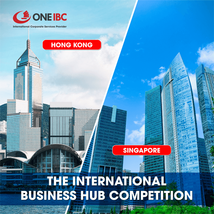 The International Business Hub Competition between Hong Kong and Singapore