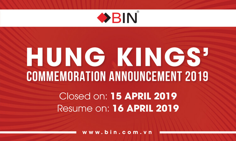 Hung Kings' Commemoration Announcement