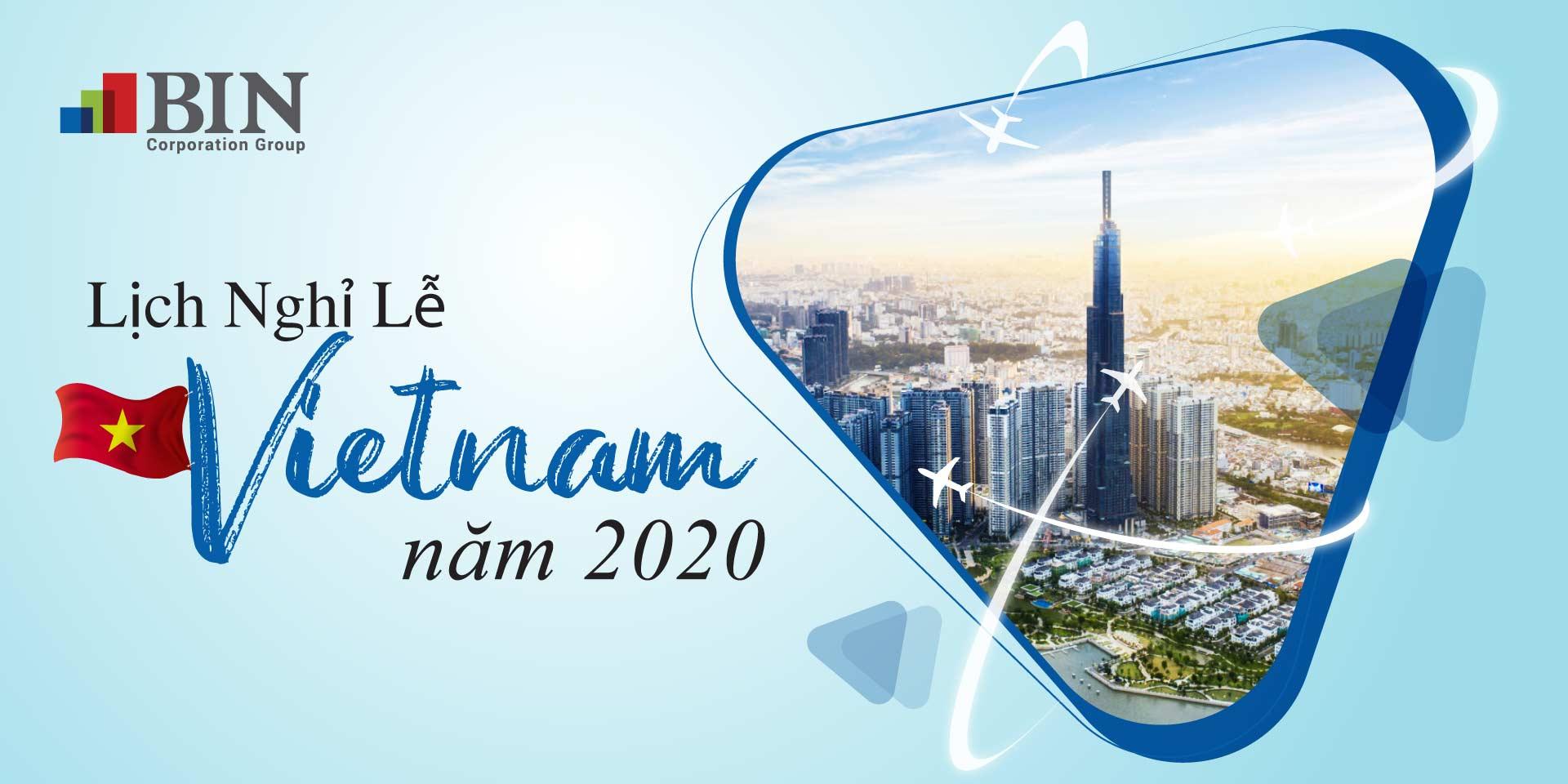 Ngày Nghỉ Lễ Việt Nam Năm 2020